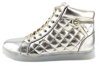 Bebe Womens Karlee Hight Top Lace Up Fashion Sneakers.