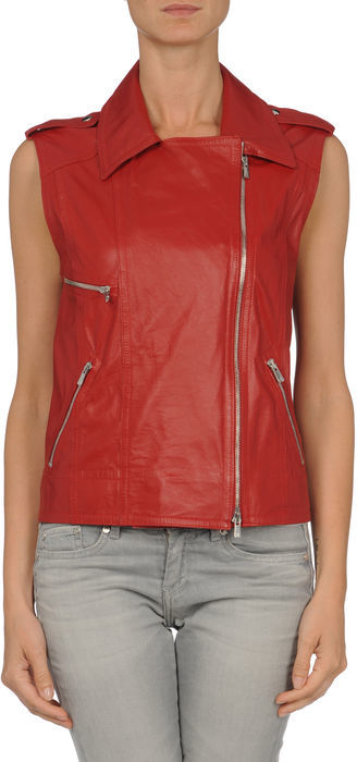 DINOU by JOAQUIM JOFRE' Leather outerwear