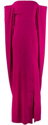 Tom Ford off-the-shoulder draped gown