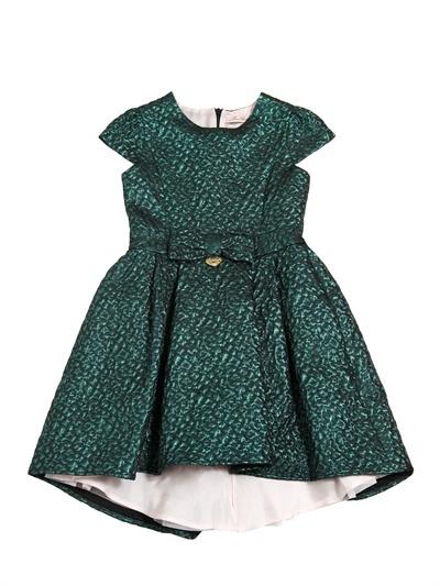 Miss Blumarine Brocade Party Dress