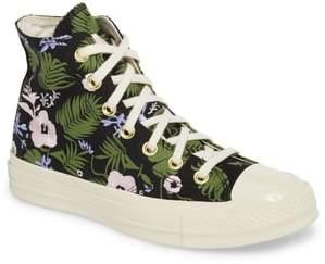 Converse Chuck Taylor(R) All Star(R) 70 Palm Print High Top Sneaker