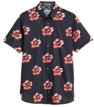 Ted Baker Floral Print Sport Shirt