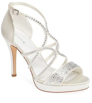 Menbur Maite Platform Sandal $124.95 thestylecure.com