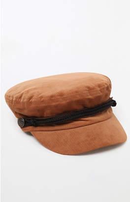 La Hearts Corduroy Baker Boy Hat
