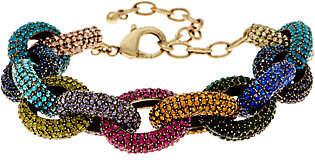 LOGO by Lori Goldstein LOGO Links Lavish Pave Links Bracelet
