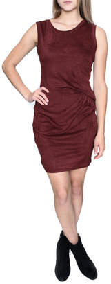 RD Style Suede Bodycon Dress