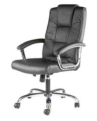 Alphason Houston Leather Faced Executive Chair