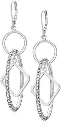 Anne Klein Women's Tone Drop Earrings Hoop