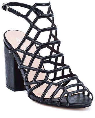 120362d46c6 GC SHOES GC Shoes Womens Camila Pumps Buckle Peep Toe Block Heel