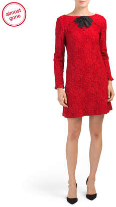Made In France Floral Lace Dress