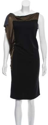 Balenciaga Sleeveless Midi Dress