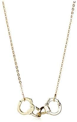 ECRU metal Hand Cuff Necklace