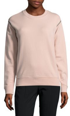 Solid Cotton Pullover