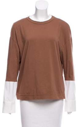 Brunello Cucinelli Layered Long Sleeve Top