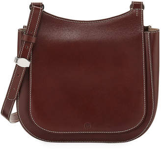The Row Hunting 9 Vegetable-Dyed Leather Shoulder Bag