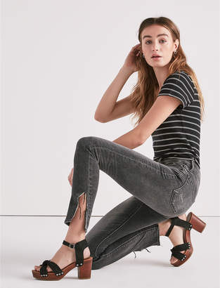 Lucky Brand Ava Mid Rise Skinny Jean In Mora