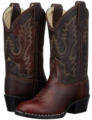 Old West Kids Boots Round Toe Western Boot Cowboy Boots