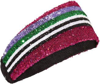 Missoni Horizontal Striped Sequin Headband