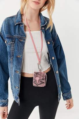 Urban Outfitters Carabiner Necklace Pouch