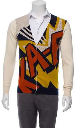 3.1 Phillip Lim Printed Wool Cardigan