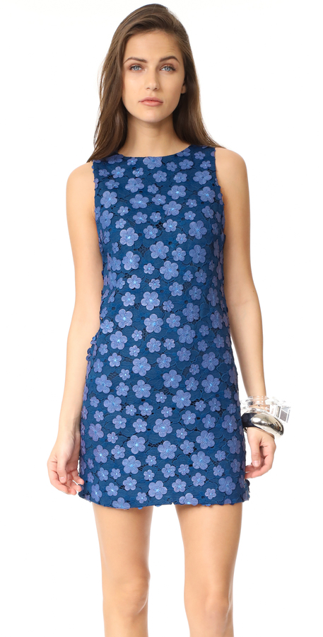 Alice + Olivia alice + olivia Clyde A-Line Shift Dress