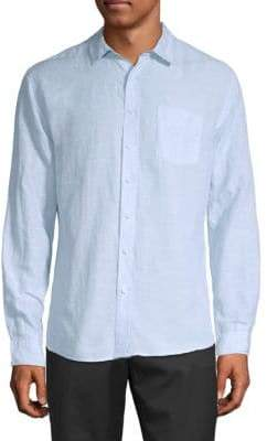 Saks Fifth Avenue Linen Tencel Shirt
