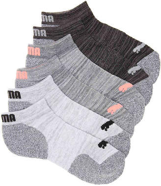 Puma CoolCell Cushioned No Show Socks - 6 Pack - Women's