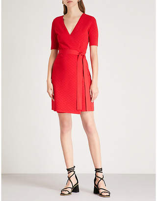 Diane von Furstenberg V-neck stretch-crepe wrap dress