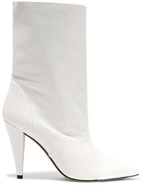 IRO Avina Textured-leather Boots