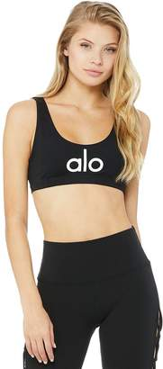 Alo Yoga Ambient Logo Bra - Women's