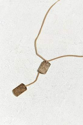 Urban Outfitters Double Dog Tag Necklace