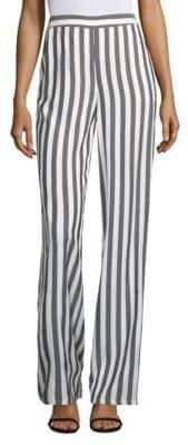Yigal Azrouel Stripe Wide Leg Pants