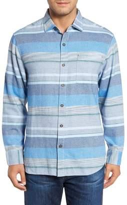Tommy Bahama Zahira Stripe Standard Fit Sport Shirt