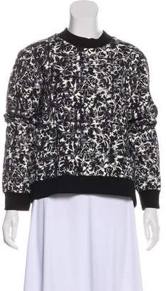 Tory Burch Printed Long Sleeve Sweatshirt w/ Tags