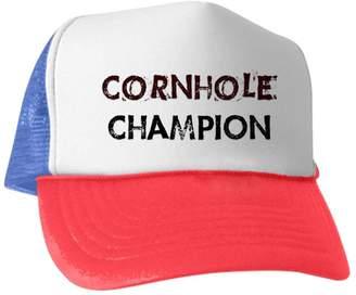 bccd485fa7e CafePress - Cornhole Champion - Trucker Hat