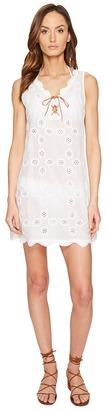 Letarte - Sleevelss Doily Dress Women's Swimwear $250 thestylecure.com
