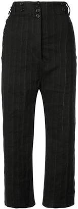 Ann Demeulemeester drop-crotch trousers