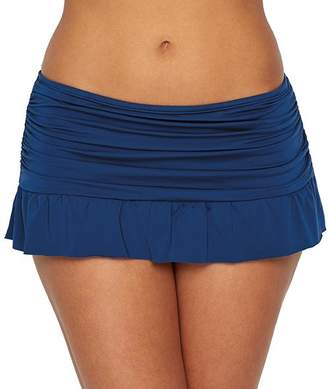 Kenneth Cole Reaction Ruffle-licious Skirted Swim Bottom
