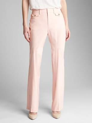Gap High Rise Bootcut Pants in Linen