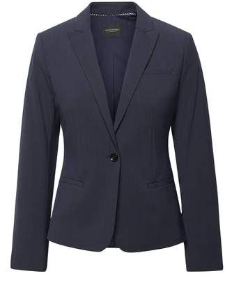 Banana Republic Petite Classic-Fit Machine-Washable Italian Wool Blend Blazer