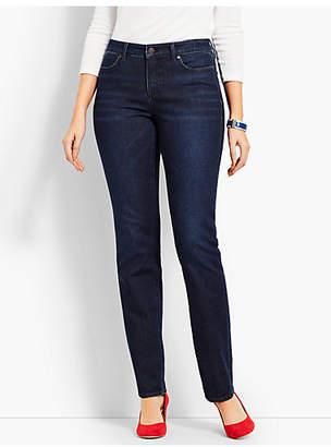 Talbots Denim Straight Leg-Curvy Fit/Empire Blue Wash