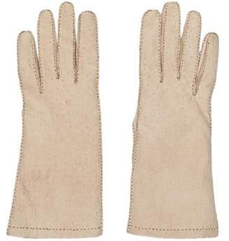 2f880325 Fur Lined Leather Gloves Women - ShopStyle