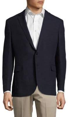 Ralph Lauren Notch-Lapel Linen Jacket