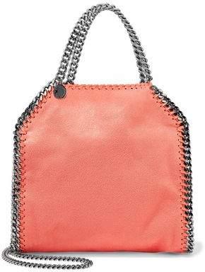 Stella McCartney The Falabella Mini Faux Suede Shoulder Bag