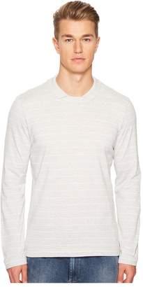 Eleventy Johnny Collar Cotton Sweater