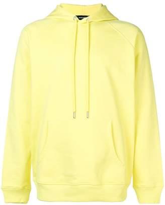 Diesel solid colour hoodie