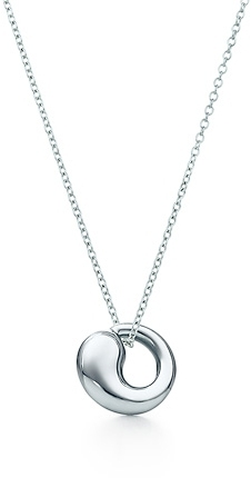 Elsa Peretti® Eternal Circle charm and chain