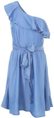 MICHAEL Michael Kors Ruffled One-shoulder Dress