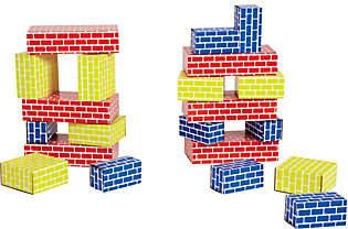 Edushape Corrugated Blocks - 52 Pieces
