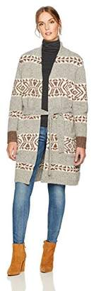 Pendleton Women's Lodge Wrap Lambswool Cardigan Sweater